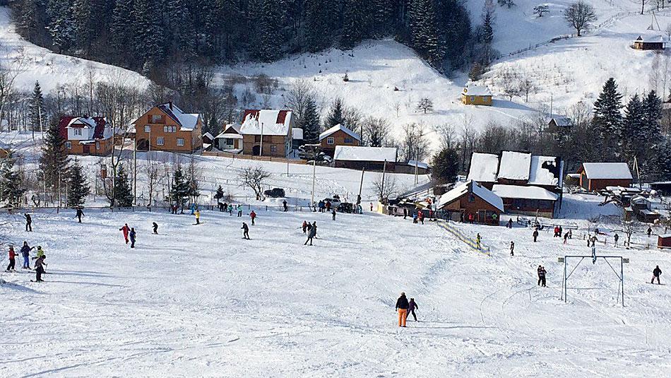 Лыжи в Яремче