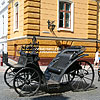 Кована карета на вул. О. Кобилянської