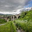 Австрийские железнодорожные мосты-виадуки (XIX в.), село Ворохта