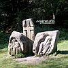 Каменные скульптуры  Дария Грабаря, посвященные народным мстителям опришкам и освобождению галицких крестьян от крепостного права в 1848 г. (Тропа Довбуша)
