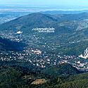 Вигляд міста зі сторони хребта Явірник