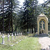 The World War I Austrian military cemetery