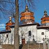 Церковь Св. Николая (1695) с колокольней (1821), с. Новый Кропивник