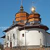 Церква Св. Миколая (1695) з дзвіницею (1821), с. Новий Кропивник
