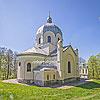 Николаевская церковь (нач. ХХ ст.) с деревяной колокольней (XVIII ст.), с. Лозино