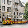 «The Wonder Train» on the city streets