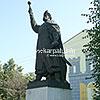 The monument to B. Khmelnytsky