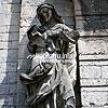 Скульптура на колокольне Костела Св. Станислава (1553 г.)