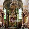 Интерьер костела св. Иоанна Крестителя