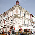 The buildings on Rynek Square