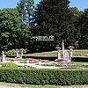 The park near Łańcut castle