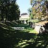 Территория Ланьцутского замка