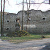 The remains of the castle in Terebovlya town (14th cent.)