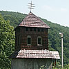 The bell tower of St. Basil church, Likitsary village