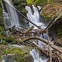 Voyevodyn waterfall