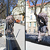 Miniature sculptures on the streets