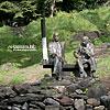 Пам'ятник А. Ерделі та Й. Бокшаю у сквері біля пл. Жупанської