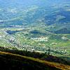 Вид на село Гукливый с горы Плай